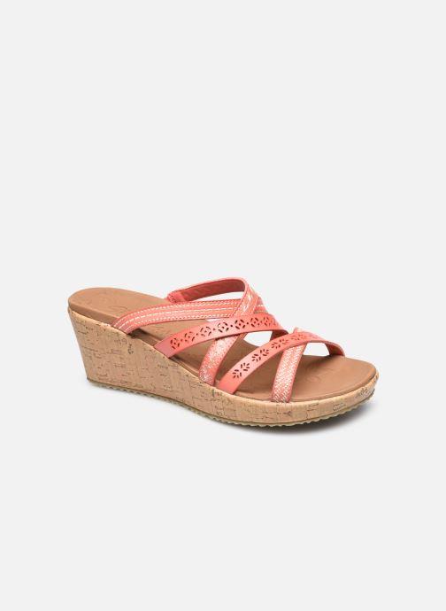 Clogs & Pantoletten Skechers BEVERLEE TIGER POSSE rosa detaillierte ansicht/modell