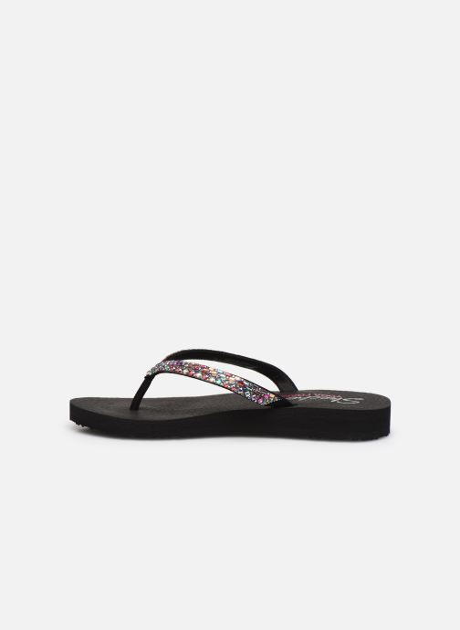 Tongs Skechers MEDITATION SHINE AWAY Noir vue face