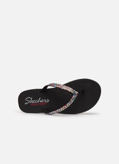 Tongs Skechers MEDITATION SHINE AWAY Noir vue gauche