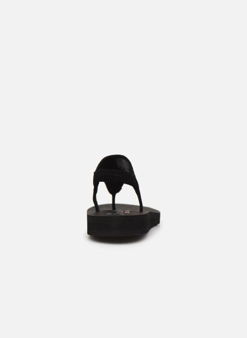 Sandales et nu-pieds Skechers MEDITATION NEW MOON Noir vue droite