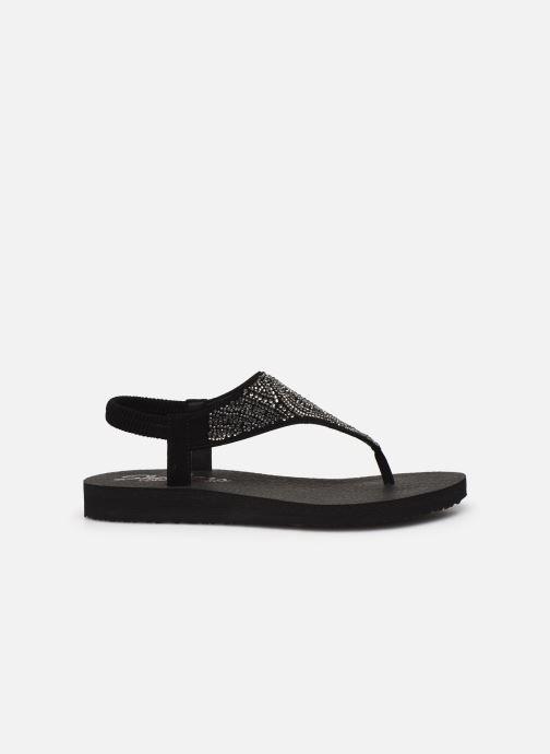 Sandales et nu-pieds Skechers MEDITATION NEW MOON Noir vue derrière