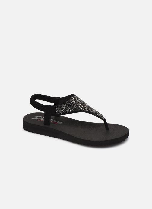 Sandales et nu-pieds Skechers MEDITATION NEW MOON Noir vue détail/paire