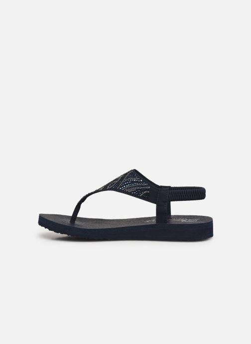 Sandali e scarpe aperte Skechers MEDITATION NEW MOON Azzurro immagine frontale