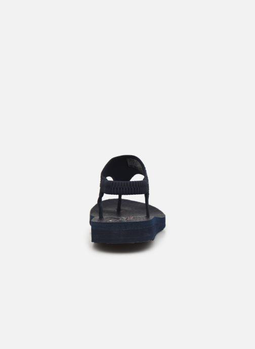 Sandali e scarpe aperte Skechers MEDITATION NEW MOON Azzurro immagine destra