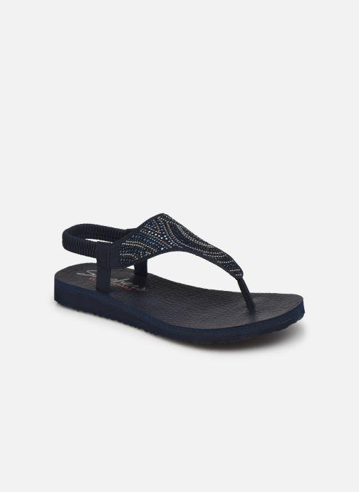 Sandali e scarpe aperte Skechers MEDITATION NEW MOON Azzurro vedi dettaglio/paio