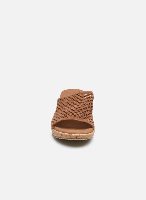 Wedges Skechers BEVERLEE GOLDEN SKY Bruin model