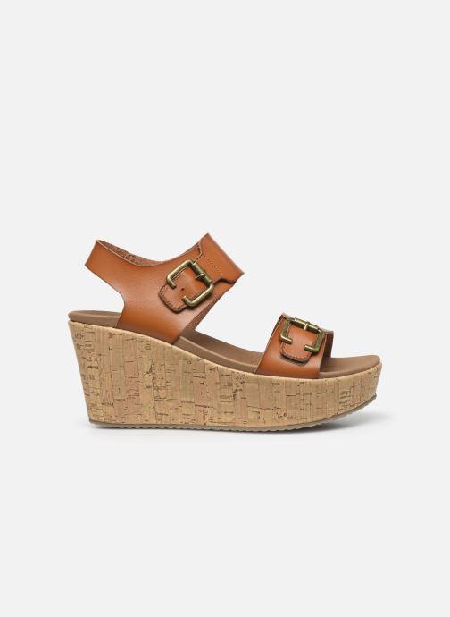 Sandales et nu-pieds Skechers BRIT GO GETTER Marron vue derrière
