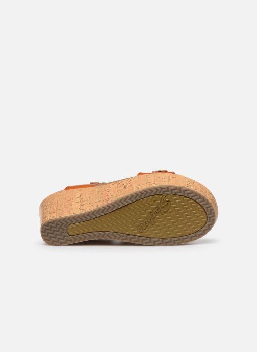 Sandales et nu-pieds Skechers BRIT GO GETTER Marron vue haut