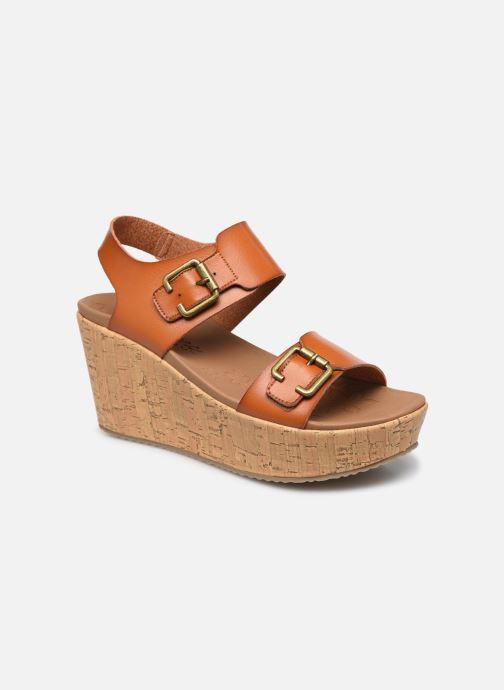 Sandales et nu-pieds Skechers BRIT GO GETTER Marron vue détail/paire
