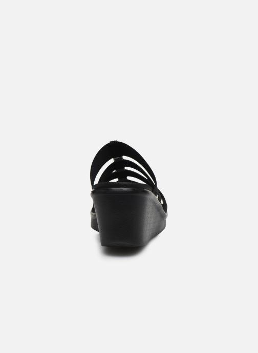 Chaussure Femme Grande Remise Skechers RUMBLE ON CITY FEVER Noir Mules et sabots 419655