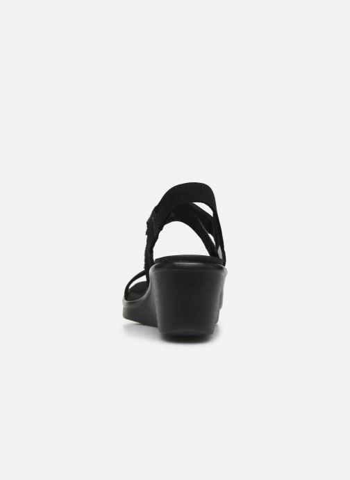 Sandali e scarpe aperte Skechers RUMBLE ON CHART TOPPER Nero immagine destra