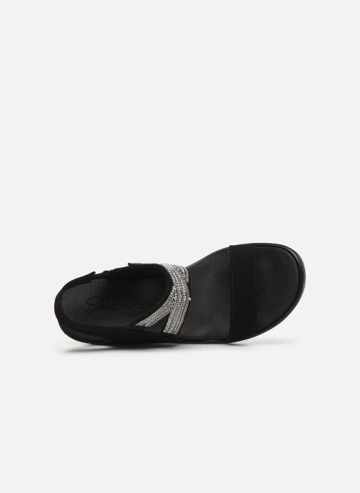 Sandali e scarpe aperte Skechers RUMBLE ON CHART TOPPER Nero immagine sinistra