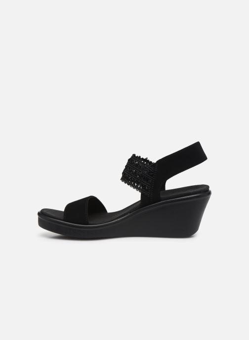 Sandali e scarpe aperte Skechers RUMBLE ON TAKEOVER Nero immagine frontale
