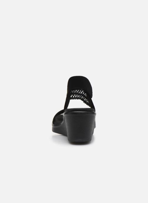 Sandali e scarpe aperte Skechers RUMBLE ON TAKEOVER Nero immagine destra