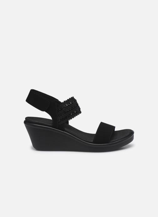 Sandali e scarpe aperte Skechers RUMBLE ON TAKEOVER Nero immagine posteriore