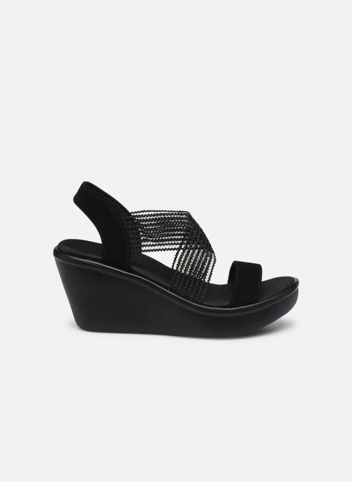 Sandales et nu-pieds Skechers RUMBLE UP CLOUD CHASER Noir vue derrière