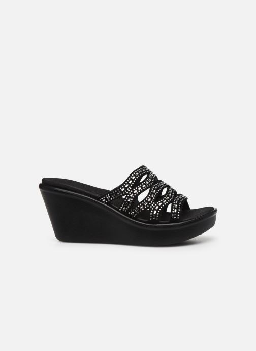 Zuecos Skechers RUMBLE UP FUNNY BUSINESS Negro vistra trasera