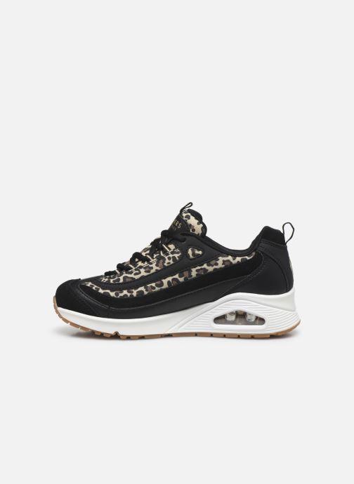 Sneakers Skechers UNO WILD STREETS Nero immagine frontale