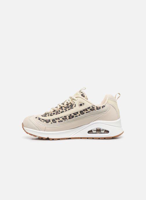 Sneakers Skechers UNO WILD STREETS Bianco immagine frontale