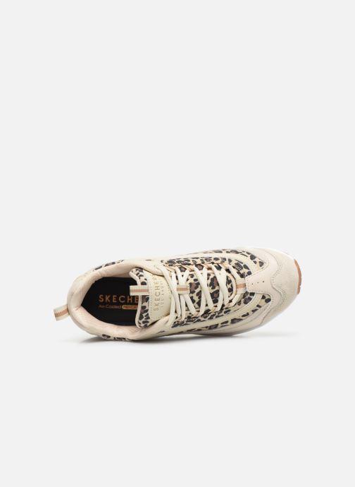 Sneakers Skechers UNO WILD STREETS Bianco immagine sinistra