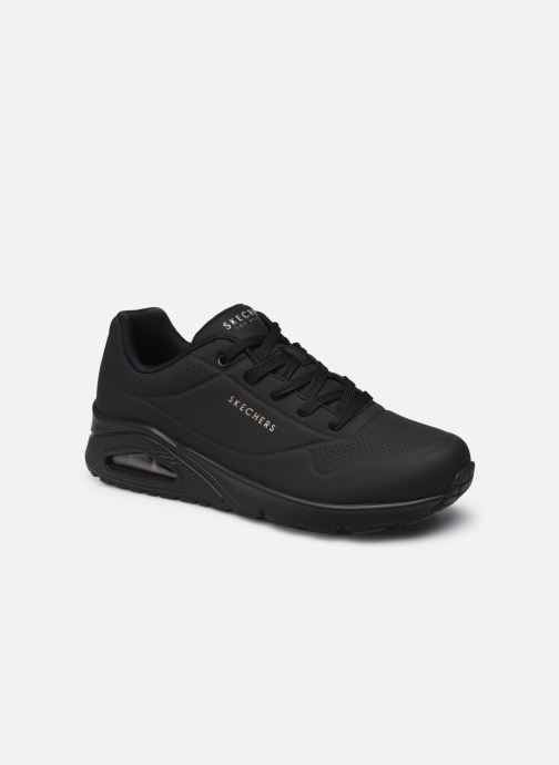 Sneakers Skechers UNO STAND ON AIR W Zwart detail
