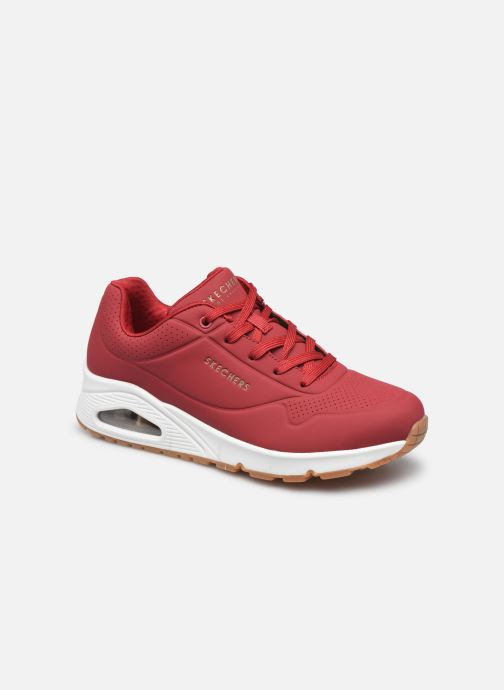 Sneakers Skechers UNO STAND ON AIR W Rood detail