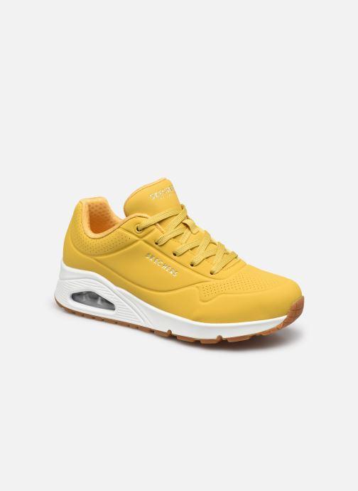 Sneakers Skechers UNO STAND ON AIR W Geel detail