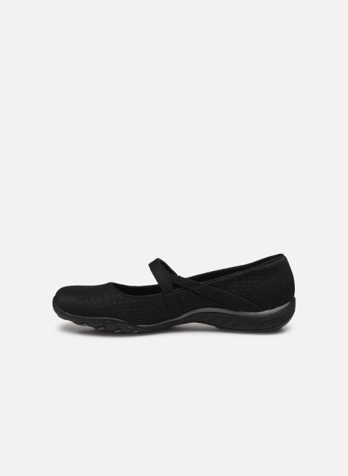 Chaussons Skechers BREATHE-EASY LOVE TOO Noir vue face