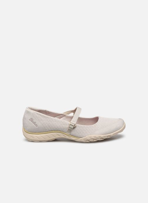Chaussons Skechers BREATHE-EASY LOVE TOO Beige vue derrière