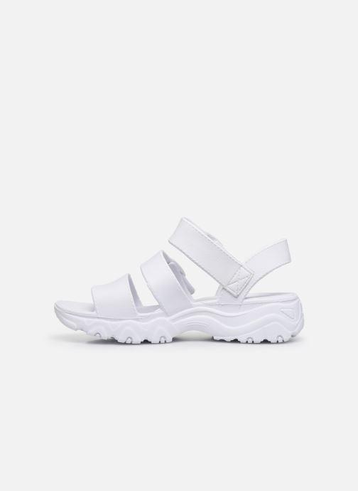 Sandalen Skechers D'LITES 2.0 STYLE ICON Wit voorkant