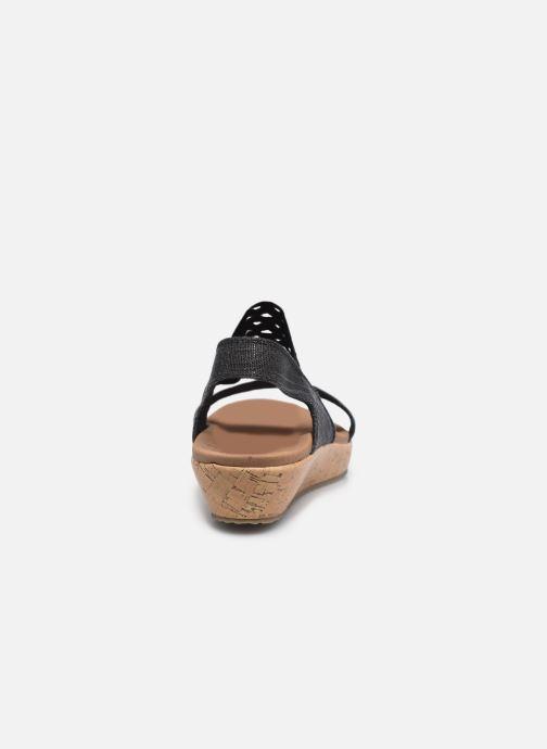 Sandalen Skechers BRIE MOST WANTED schwarz ansicht von rechts