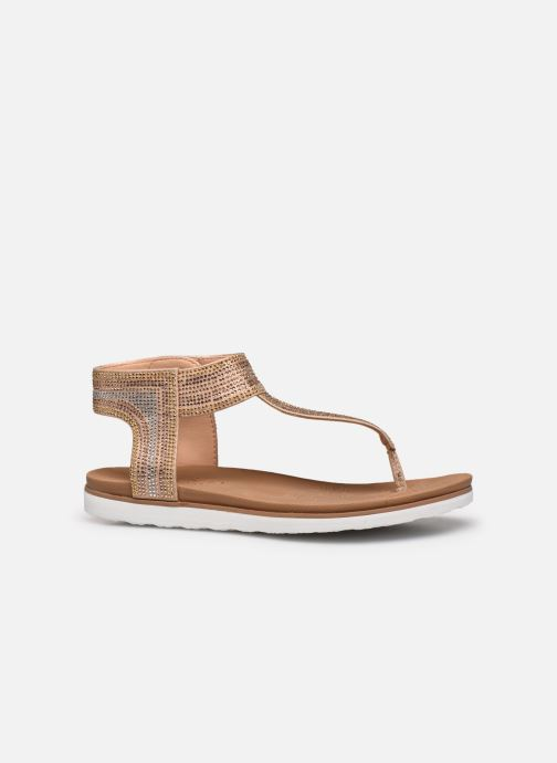 Sandalias Skechers MOON KEEPERS Oro y bronce vistra trasera