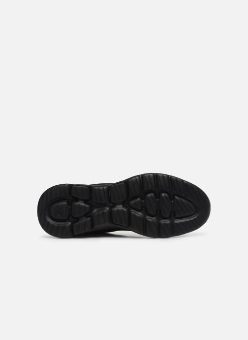 Baskets Skechers GO WALK 5 GUARDIAN Noir vue haut