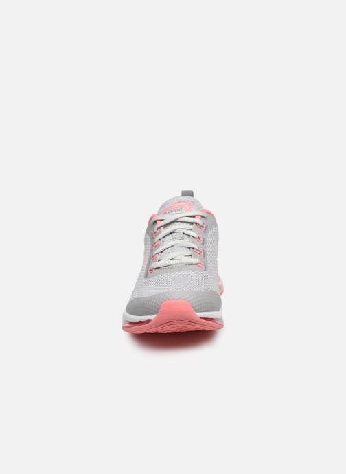 Baskets Skechers SKECH-AIR ELEMENT 2.0 LOOKING FAST Gris vue portées chaussures