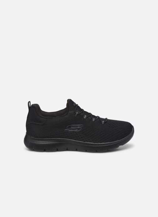 Baskets Skechers SUMMITS FAST ATTRACTION Noir vue derrière