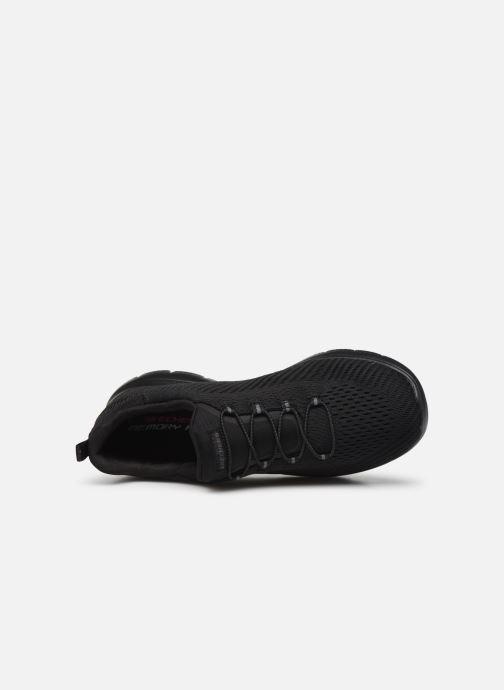 Baskets Skechers SUMMITS FAST ATTRACTION Noir vue gauche
