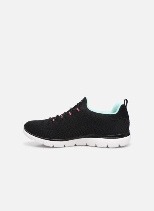 Deportivas Skechers SUMMITS FAST ATTRACTION Negro vista de frente