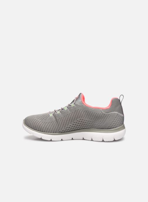 Baskets Skechers SUMMITS FAST ATTRACTION Gris vue face