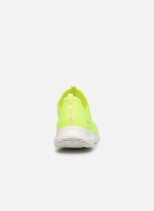 Sneakers Skechers ULTRA FLEX CANDY CRAVINGS Giallo immagine destra