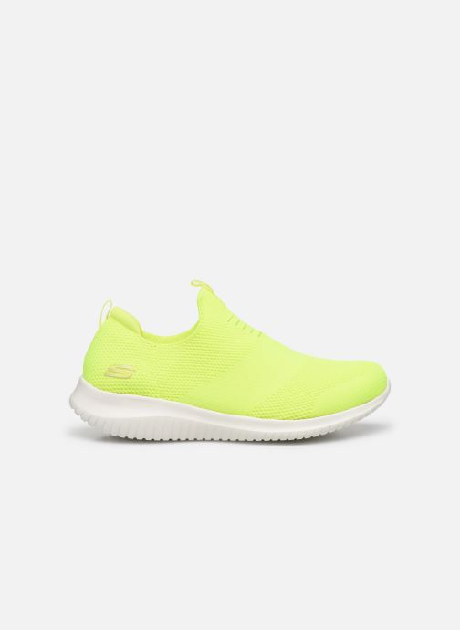 Baskets Skechers ULTRA FLEX CANDY CRAVINGS Jaune vue derrière