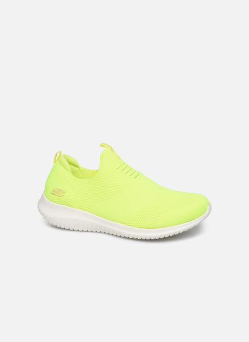 Baskets Skechers ULTRA FLEX CANDY CRAVINGS Jaune vue détail/paire