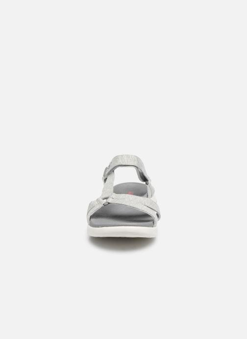 Sandalen Skechers ON-THE-GO 600 grau schuhe getragen