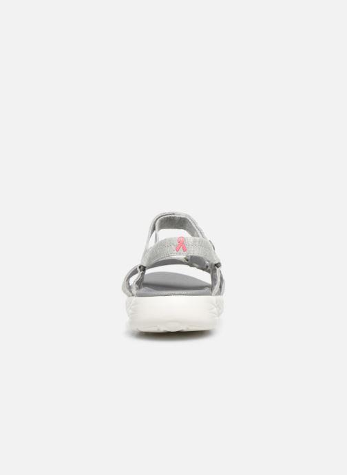 Sandalen Skechers ON-THE-GO 600 grau ansicht von rechts