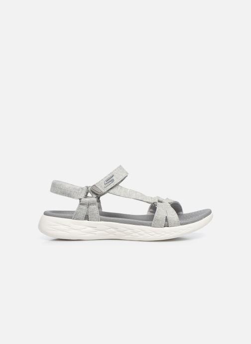 Sandalen Skechers ON-THE-GO 600 grau ansicht von hinten