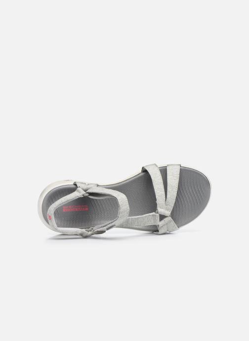 Sandalen Skechers ON-THE-GO 600 grau ansicht von links