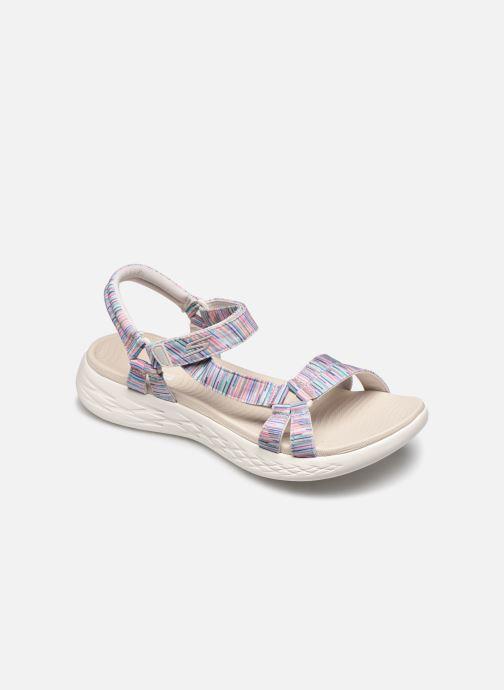 Sandales et nu-pieds Skechers ON-THE-GO 600 ELECTRIC Multicolore vue détail/paire