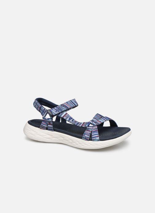 Sandales et nu-pieds Skechers ON-THE-GO 600 ELECTRIC Bleu vue détail/paire
