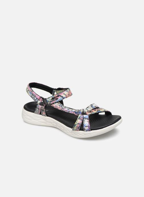 Sandales et nu-pieds Skechers ON-THE-GO 600 BOA Multicolore vue détail/paire