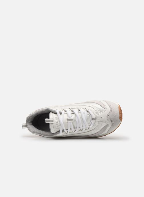 Sneakers Skechers UNO ROUNDABOUT Bianco immagine sinistra