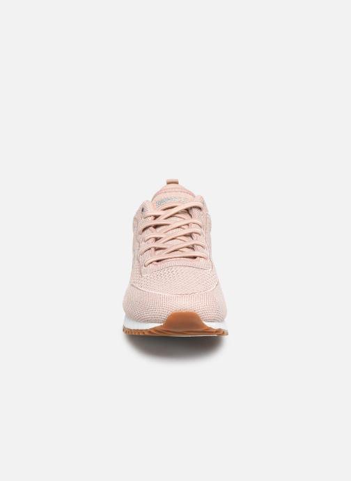 Baskets Skechers SUNLITE MAGIC DUST Beige vue portées chaussures